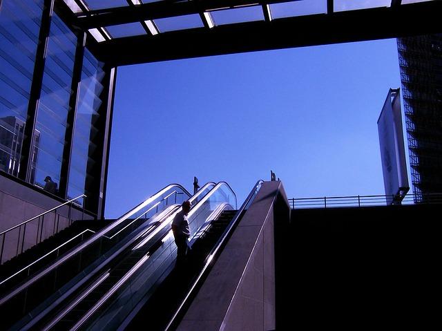schodiště metra