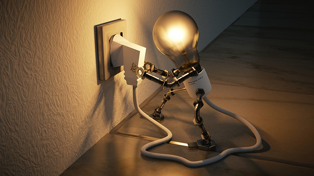 žárovka s kabelem