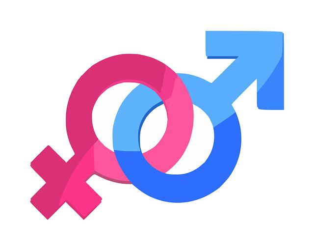 Znak ženského a mužského pohlavia